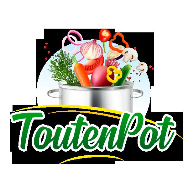 Tout en Pot TOUTENPOT Logo Transformation Soupe Conserves Compotes